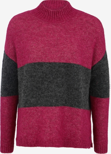 BETTER RICH Pullover 'TURTLE BOXY STRIPE' in anthrazit / magenta, Produktansicht