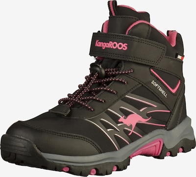 KangaROOS Stiefelette in pink / schwarz, Produktansicht