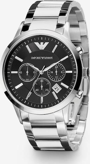 Emporio Armani Reloj analógico en negro / plata, Vista del producto