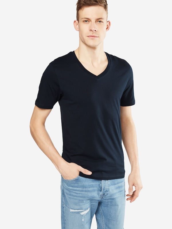 SELECTED HOMME T-Shirt V-Ausschnitt