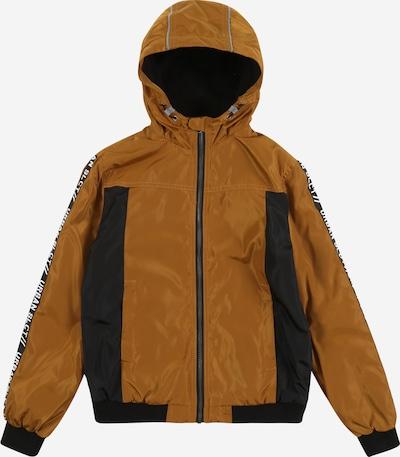 NAME IT Přechodná bunda - medová / černá, Produkt