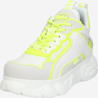 BUFFALO Sneaker 'Chai' in neongelb / weiß, Produktansicht