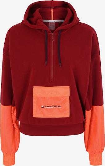 Tommy Sport Sport-Sweatshirt in weinrot / orangerot, Produktansicht