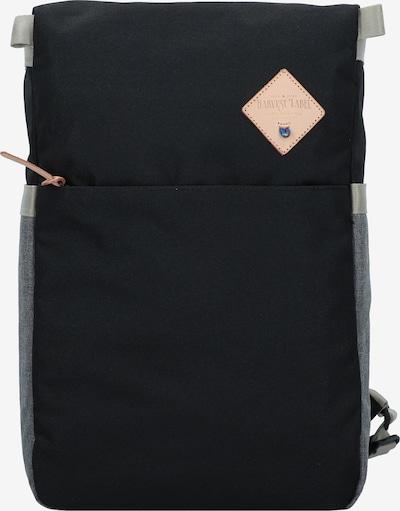 Harvest Label Rucksack 'Iwaki' in graumeliert / schwarz, Produktansicht