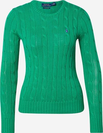 POLO RALPH LAUREN Džemperis 'JULIANNA-CLASSIC-LONG SLEEVE-SWEATER' zaļš, Preces skats