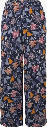 MY TRUE ME Hosen & Chino Palazzo-Hose mit Blumenmuster in blau / hellblau / pink / rostrot, Produktansicht