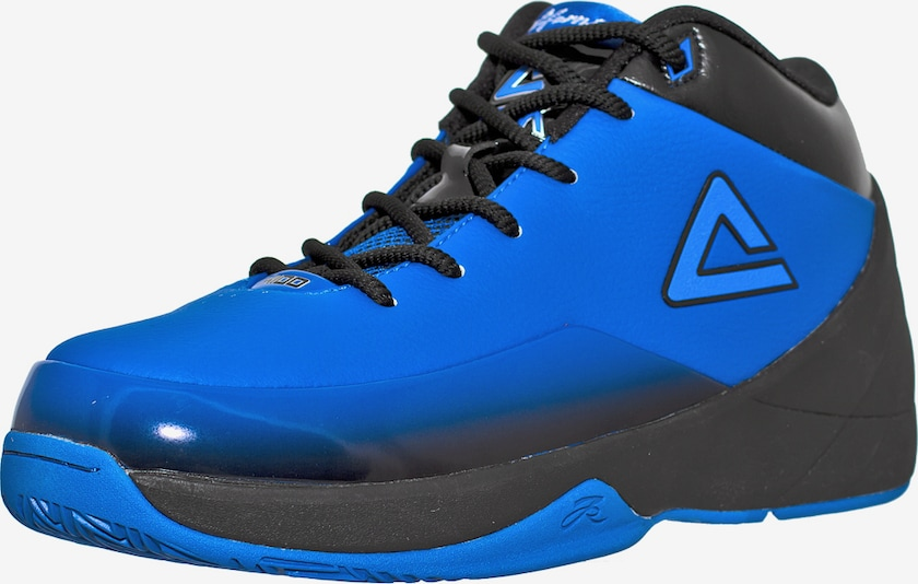 PEAK Basketballschuh Jason Kidd III Signature in blau: Frontalansicht