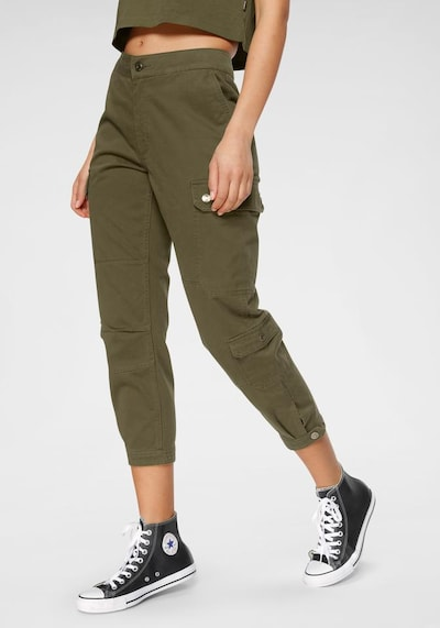 CONVERSE Hose 'CARGO WOVEN PANT' in khaki, Modelansicht