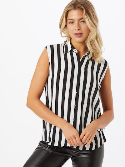 Bluză VILA pe negru / alb, Vizualizare model