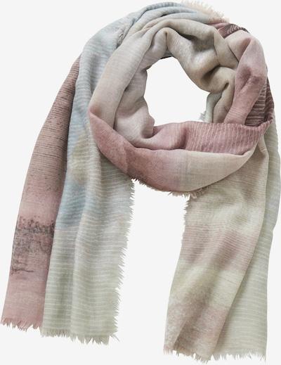 Betty Barclay Basic-Schal mit Fransen in altrosa, Produktansicht