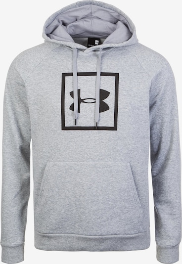UNDER ARMOUR Sportsweatshirt 'Rival' in de kleur Grijs gemêleerd / Zwart, Productweergave