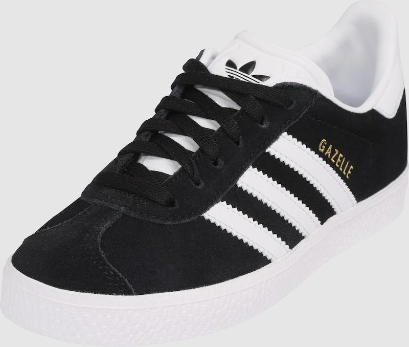 ADIDAS ORIGINALS Sneakers 'GAZELLE C' in Zwart Wit   ABOUT YOU