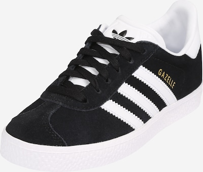Sneaker 'GAZELLE C' ADIDAS ORIGINALS pe negru / alb, Vizualizare produs