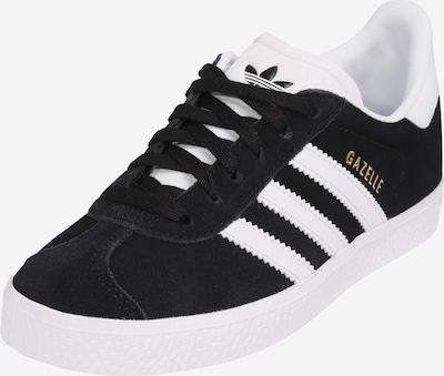 ADIDAS ORIGINALS Sneakers 'GAZELLE C' in schwarz / weiß, Produktansicht