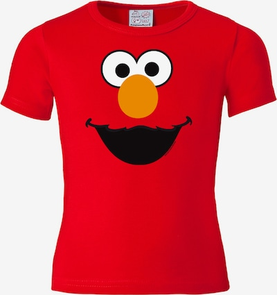 """LOGOSHIRT T-Shirt """"Elmo"""" in orange / rot / schwarz / weiß, Produktansicht"""