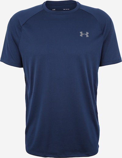 UNDER ARMOUR Functioneel shirt 'Tech 2.0' in de kleur Donkerblauw, Productweergave