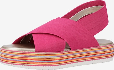 Rapisardi Sandalen in mischfarben / pink, Produktansicht
