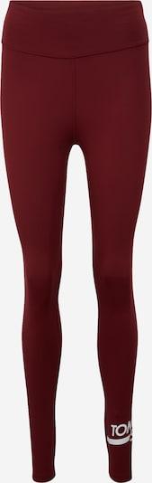 Sportinės kelnės iš Tommy Sport , spalva - vyno raudona spalva / balta, Prekių apžvalga