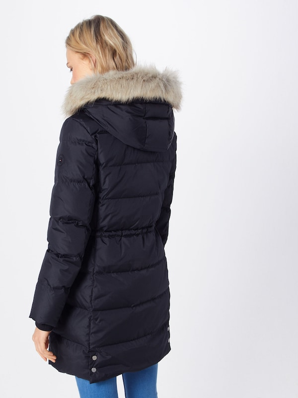 innovación tornillo gráfico  TOMMY HILFIGER Zimní kabát 'ALANA DOWN COAT' - černá | ABOUT YOU