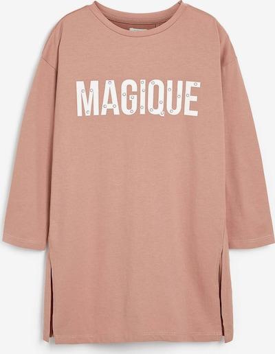 NEXT T-Shirt mit Motto Print in koralle, Produktansicht