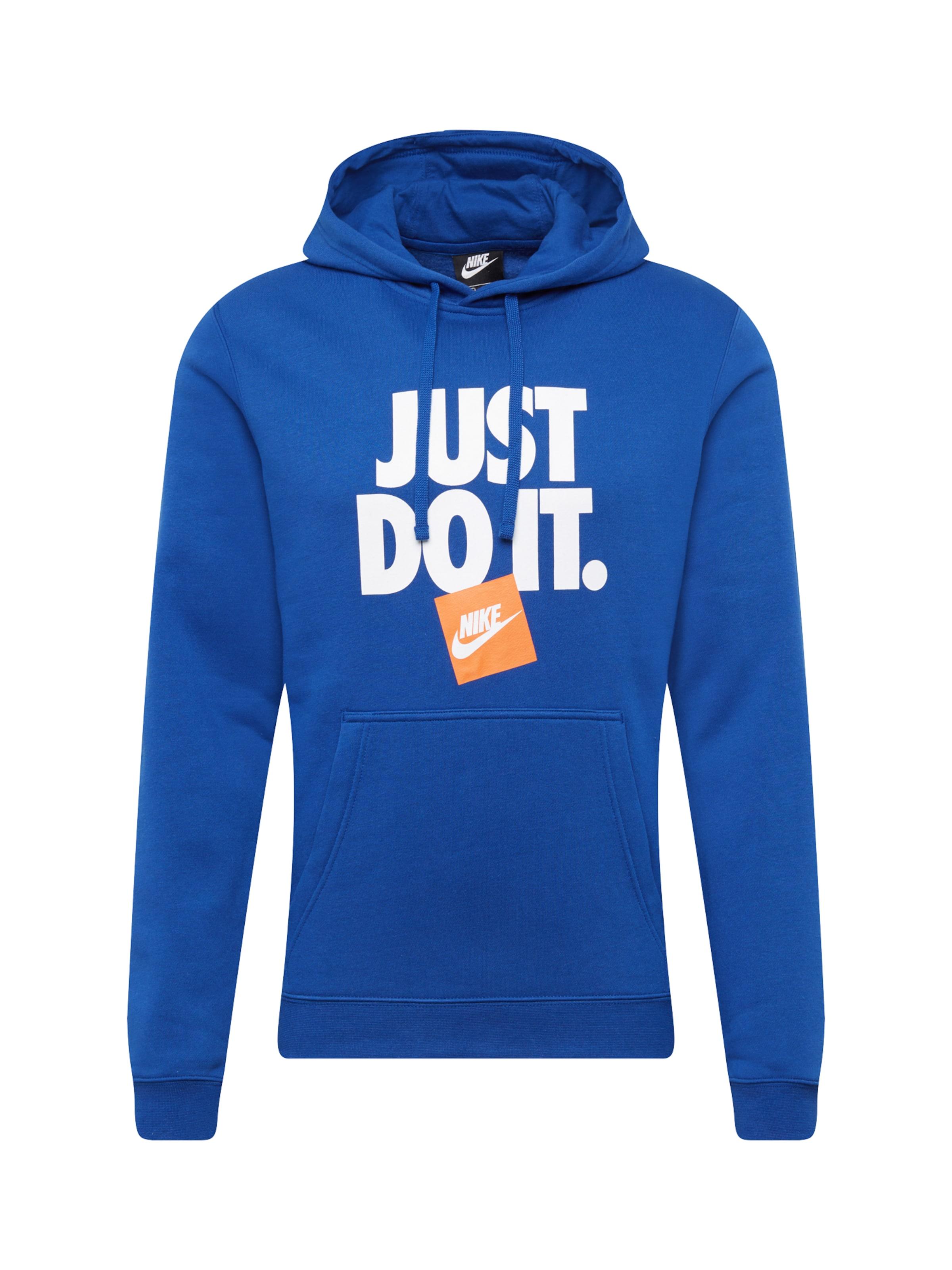 Sportswear Nike Kapuzenpullover BlauWeiß Nike In Sportswear lc5TuFK13J