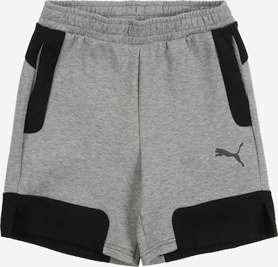 PUMA Pantalon de sport en gris / noir, Vue avec produit