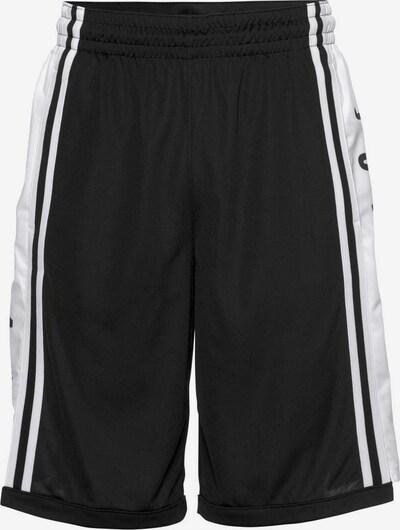Jordan Shorts in schwarz / weiß, Produktansicht
