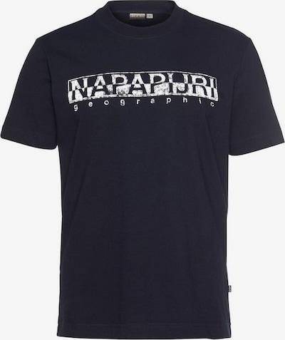 NAPAPIJRI T-Shirt in blau / weiß, Produktansicht