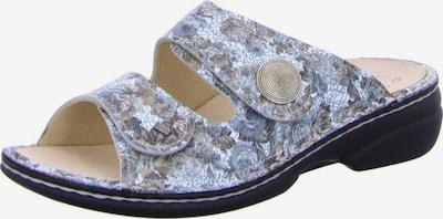 Finn Comfort Pantolette in aqua / braun, Produktansicht