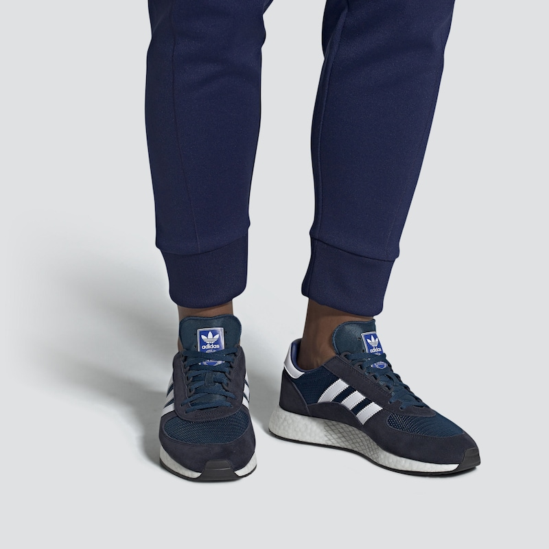 ADIDAS ORIGINALS Schuhe 'Marathon Tech' in blau / navy / weiß