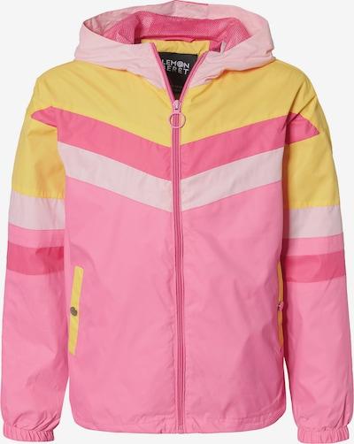 LEMON BERET Übergangsjacke in gelb / pink / altrosa, Produktansicht