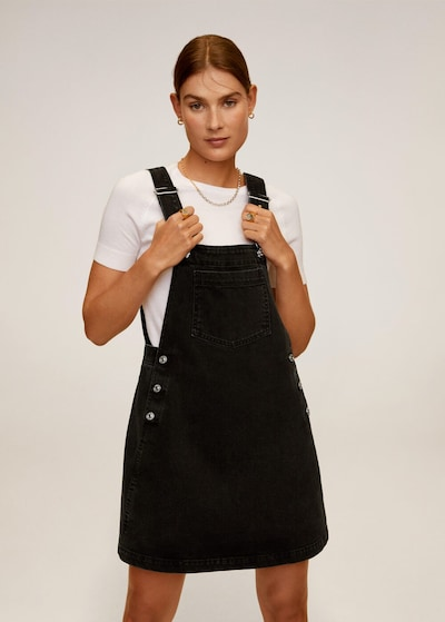 MANGO Kleid 'Newpichi' in schwarz, Modelansicht