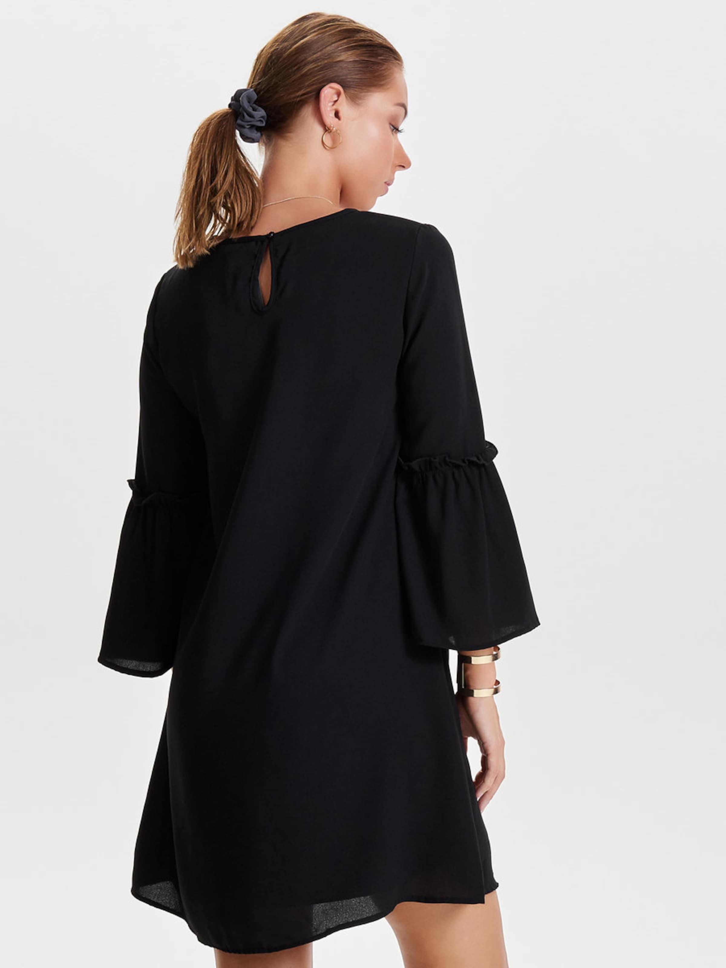 Billig Verkaufen Billigsten Spielraum Fabrikverkauf ONLY Kleid mit ausgestellte 7/8-Ärmel Billig Wie Viel Abstand Rabatt Billigster Günstiger Preis TAfHYG