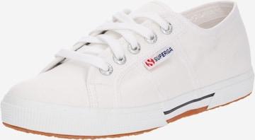 Sneaker low 'Cotu' de la SUPERGA pe alb