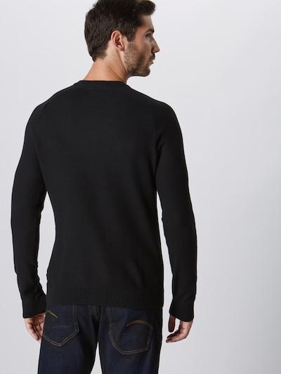 Megztinis 'Honeycomb' iš ESPRIT , spalva - juoda: Vaizdas iš galinės pusės
