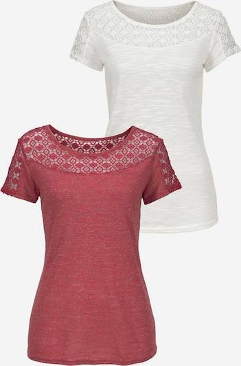VIVANCE Tričko - krémová / rezavě červená, Produkt