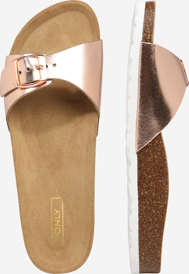 ONLY Slipper 'ONLMADISON SLIP ON' in bronze / kupfer, Produktansicht