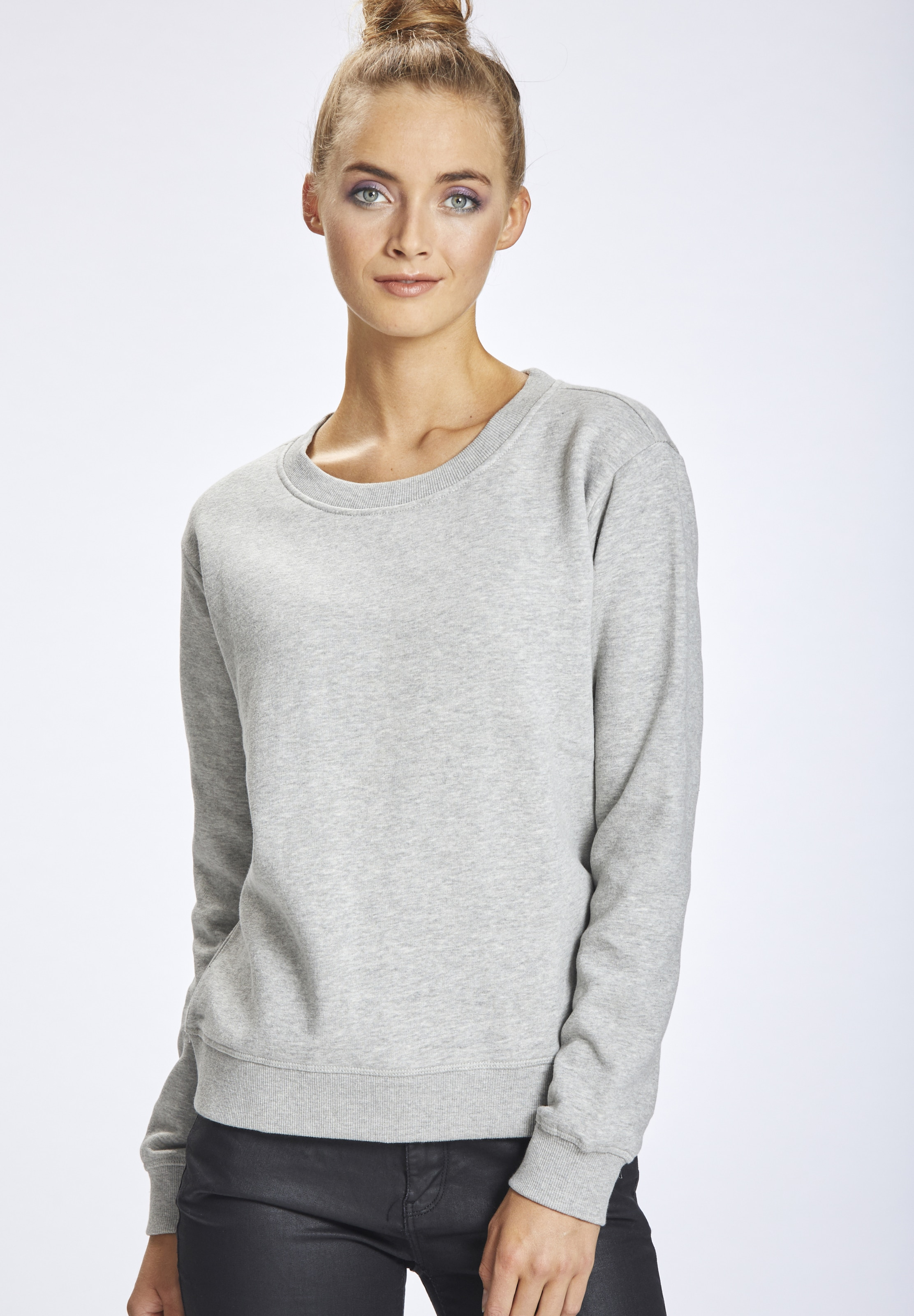 Mymo In Sweater Grau Sweater Mymo hxtsdCQr