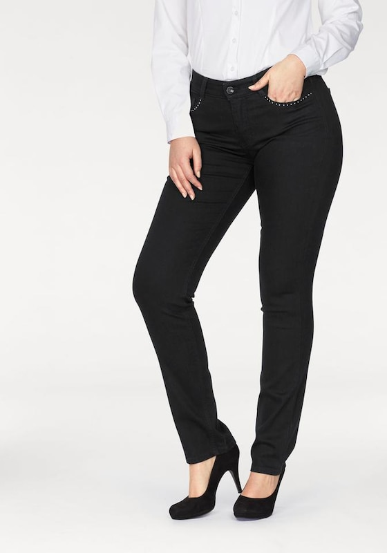 Mac Stretch-jeans Angela Pearl