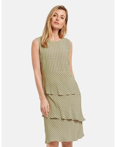 GERRY WEBER Kleid in hellgrün / mischfarben, Modelansicht