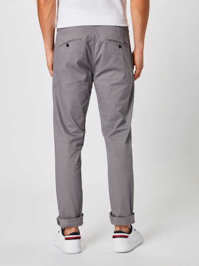 SCOTCH & SODA Pantalon chino 'Mott' en gris: Vue de dos