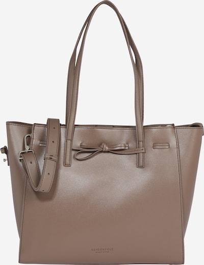 Seidenfelt Manufaktur Tasche 'Tonder' in beige, Produktansicht
