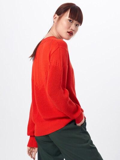Pulover 'Akarine' Kaffe pe roșu orange: Privire spate