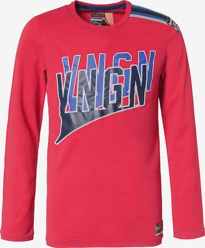 VINGINO Shirt 'Jort' in blau / navy / grau / cranberry, Produktansicht