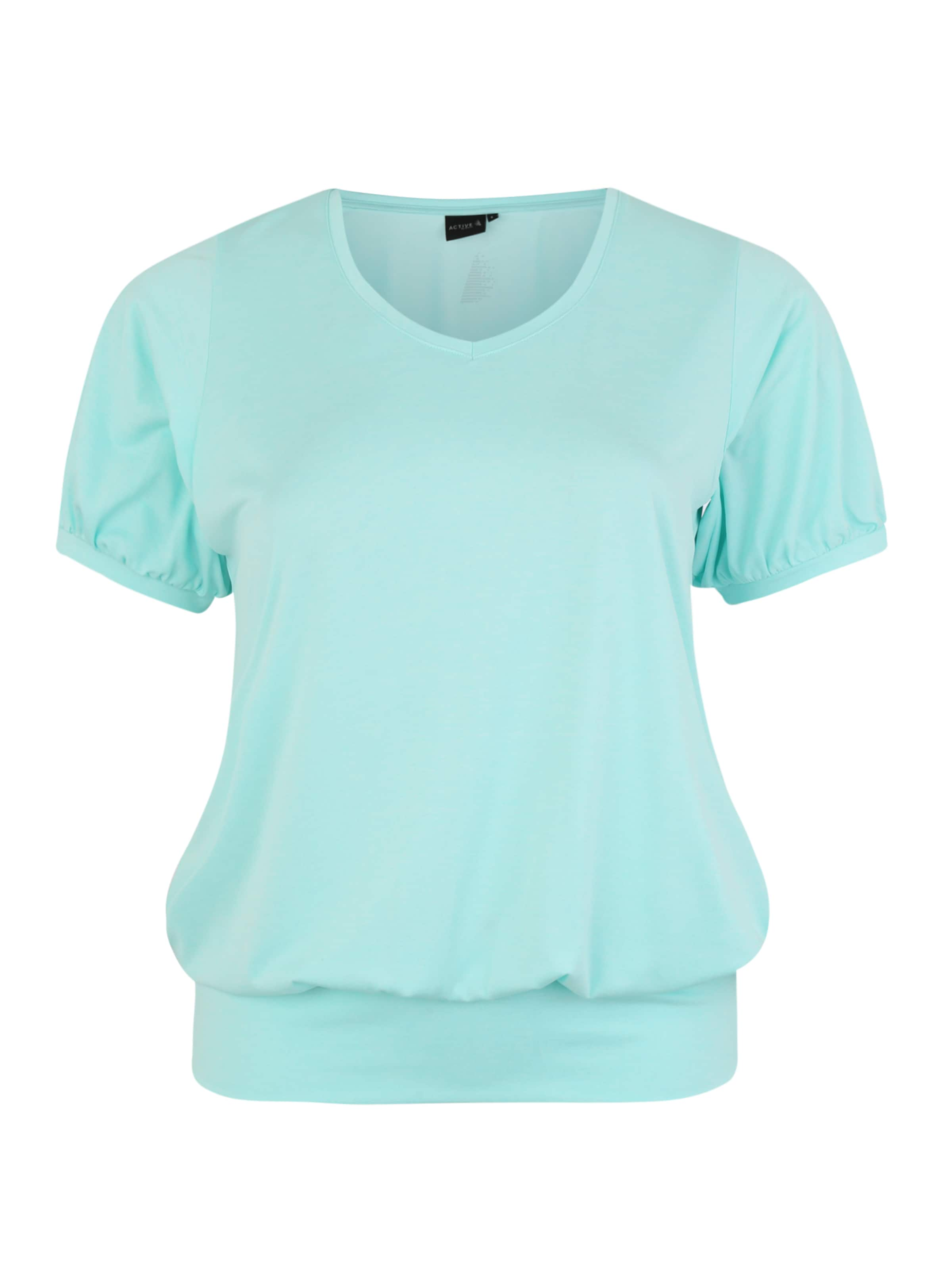 Zizzi Shirt In By Active Hellblau XNn0POkZ8w