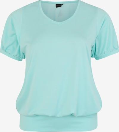 Active by Zizzi Functioneel shirt in de kleur Lichtblauw, Productweergave