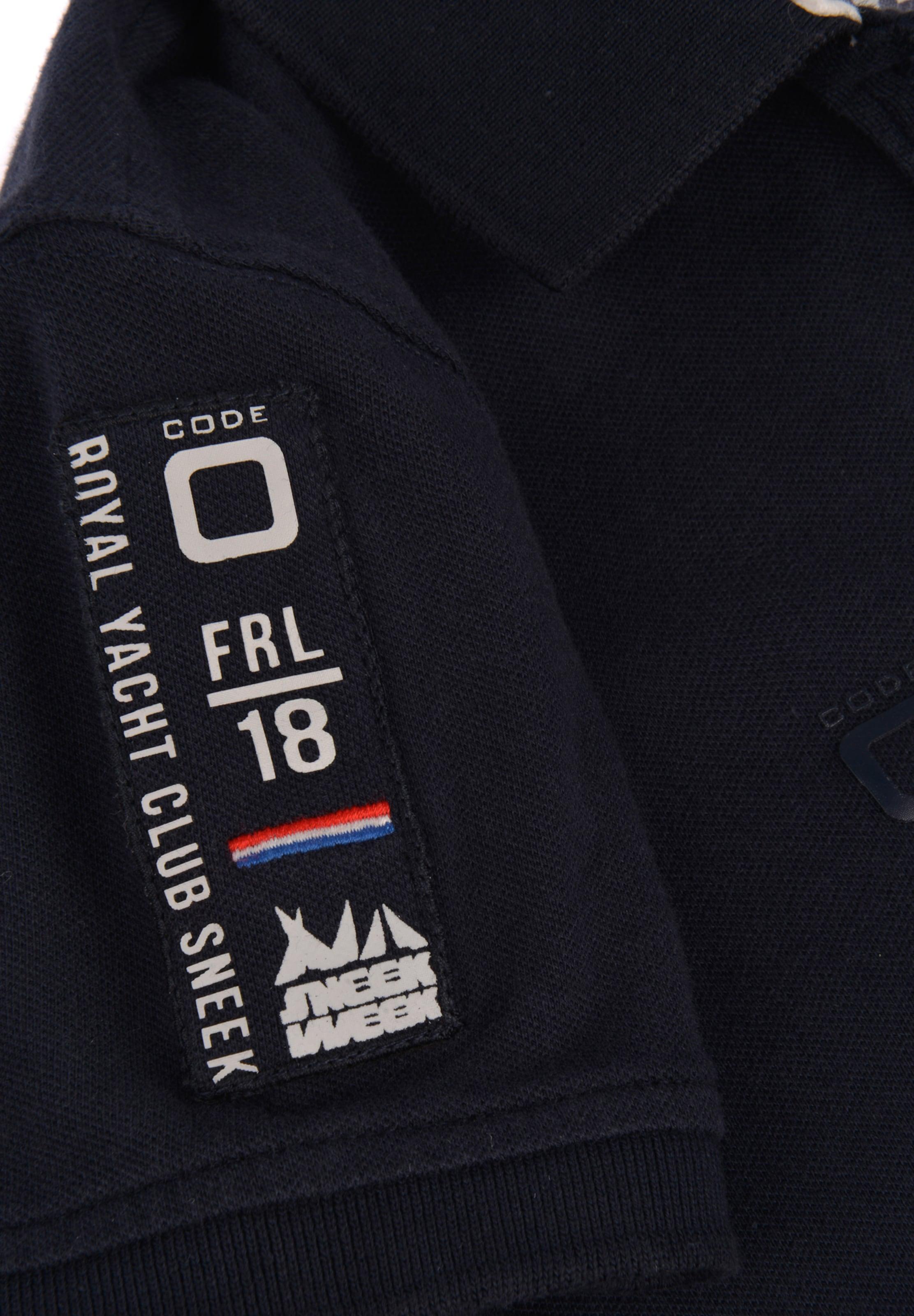 zero In Poloshirt Kobaltblau Code Polo' 'sneekweek 0mwvN8n