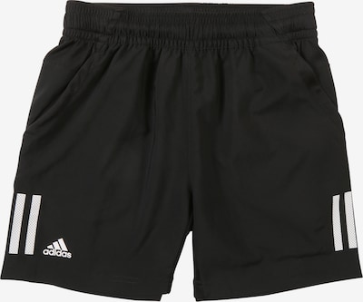 ADIDAS PERFORMANCE Sportbroek 'B Club 3S Short' in de kleur Zwart / Wit, Productweergave