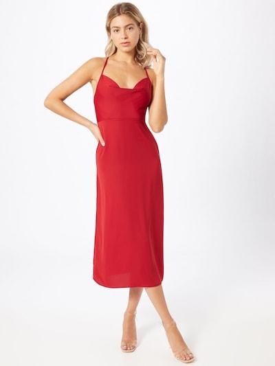 Fashion Union Sukienka koktajlowa 'Marzi' w kolorze czerwonym: Widok z przodu