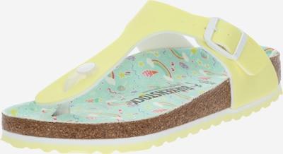 BIRKENSTOCK Schuhe 'Gizeh Kids BF' in gelb, Produktansicht